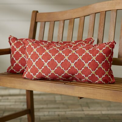 Maynes Outdoor Lumbar Pillow Size: 12 H x 24 W
