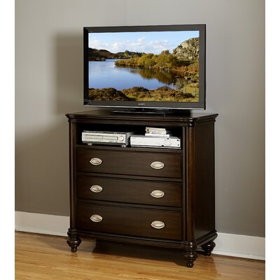Nathaniel 3 Drawer Media Chest