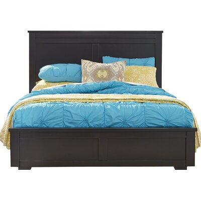 Sumner Panel Headboard Size: Queen, Finish: Black