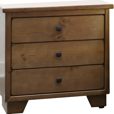 Sumner 3 Drawers Nightstand Finish: Dune