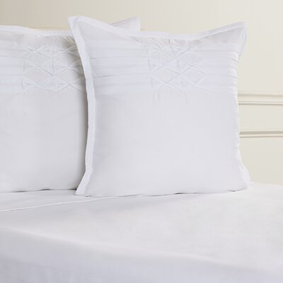 Palmatier European Sham Color: White
