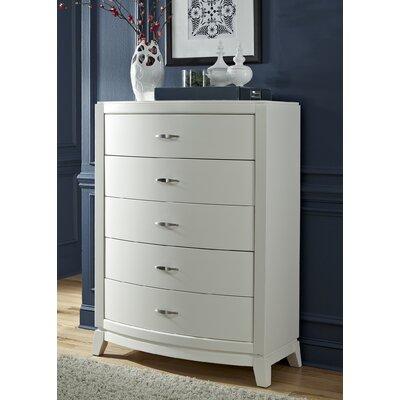 Loveryk 5 Drawer Dresser