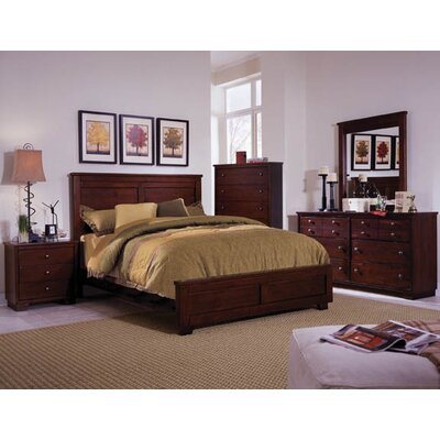 Loughran Panel Espresso Configurable Bedroom Set