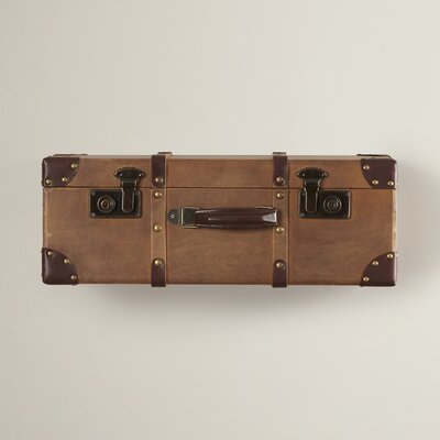Small Vintage Traveler Wall Shelf