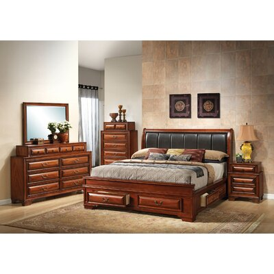 Edwardsville Platform Configurable Bedroom Set