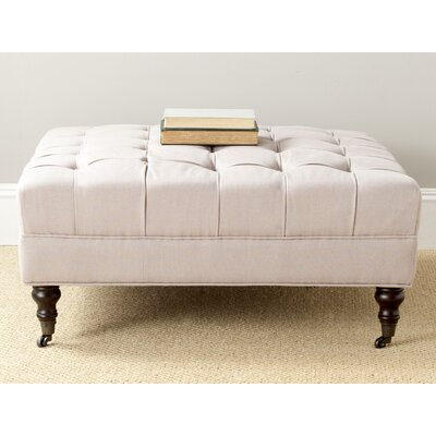 Holsey Ottoman Color: Taupe
