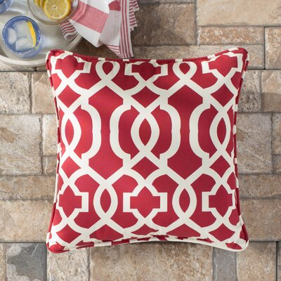 Woodeward Corded Outdoor Throw Pillow
