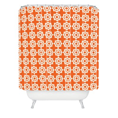 Waynesville Moroccan Mirage Extra Long Shower Curtain