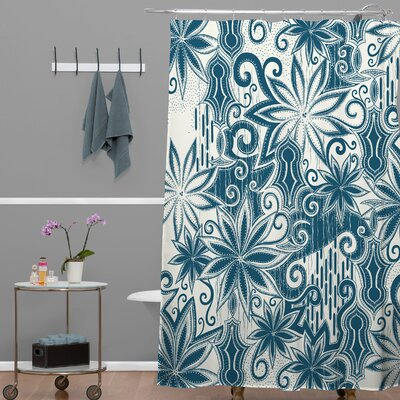 Brussels Moroccan Mirage 1 Shower Curtain