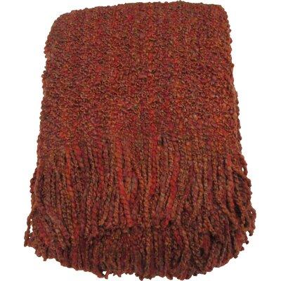 Godbold Decorative Woven Throw Color: Spice