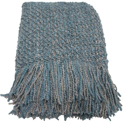 Godbold Decorative Woven Throw Color: Mist