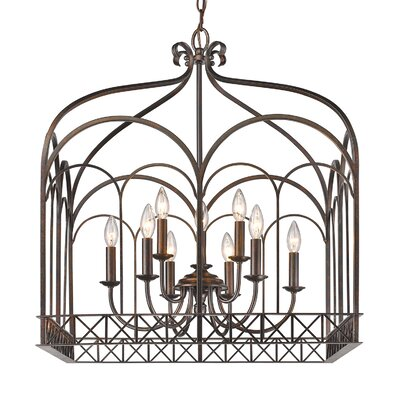 McDaniel 9-Light Foyer Pendant