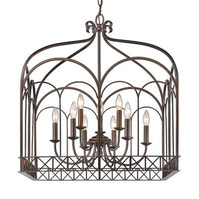 McDaniel 9-Light Foyer Pendant