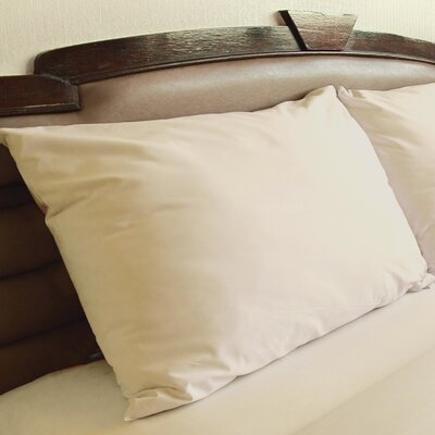 Edington Pillow Case Color: Ivory, Size: Standard