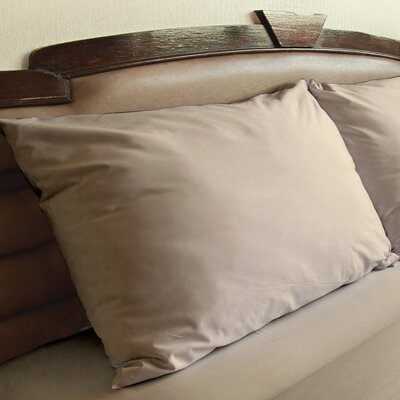 Edington Pillow Case Color: Taupe, Size: Standard