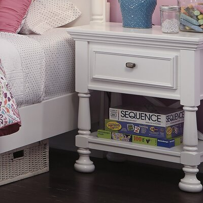 Jeffersonville 1 Drawer Nightstand