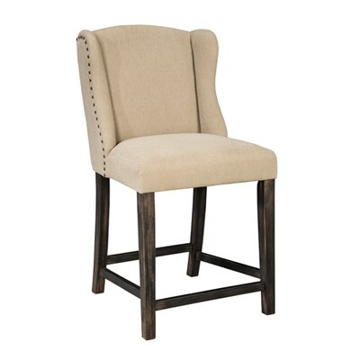 Carbondale Bar Stool With Cushion (Set of 2) Seat Height: 24.25