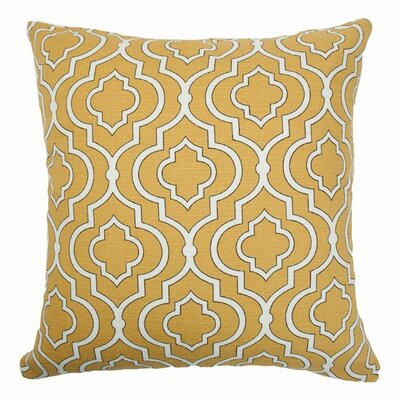 Eduarda Tile Cotton Throw Pillow Size: 18x18