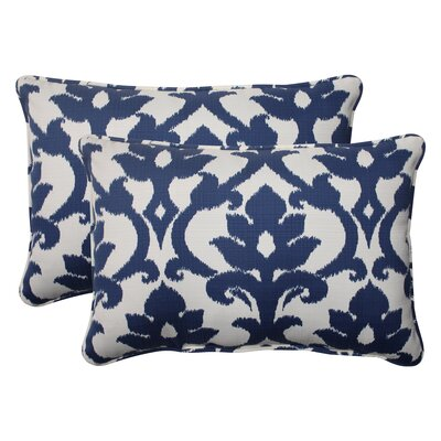 "Edmond Corded Outdoor Lumbar Pillow Size: 5"" H x 16.5"" W x 24.5"" D DBHC9759 29964073"