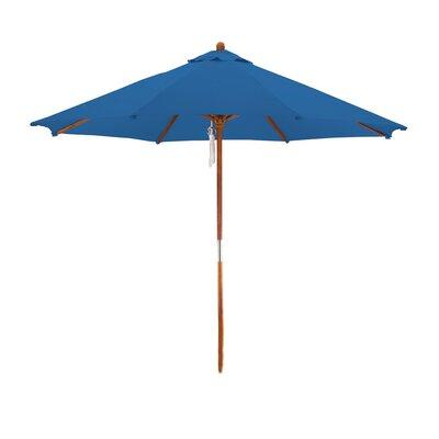 9 Market Umbrella Fabric: Pacific Blue
