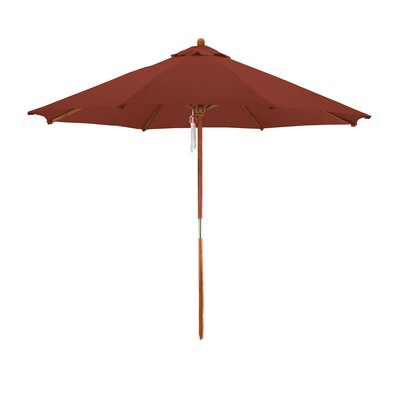 9 Market Umbrella Fabric: Brick