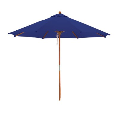 9 Market Umbrella Fabric: Navy Blue