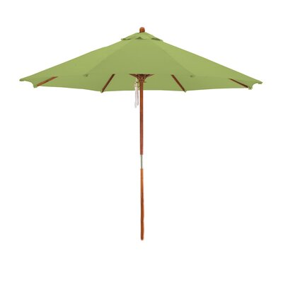 9 Market Umbrella Fabric: Lime Green
