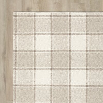 Carnkeeran Lakewood Hand-Woven Gray Area Rug Rug Size: Runner 26 x 8