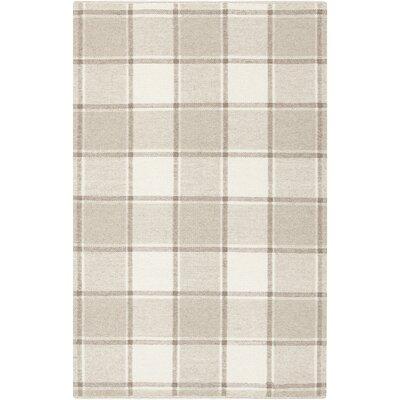 Carnkeeran Lakewood Hand-Woven Gray Area Rug Rug Size: 8 x 10