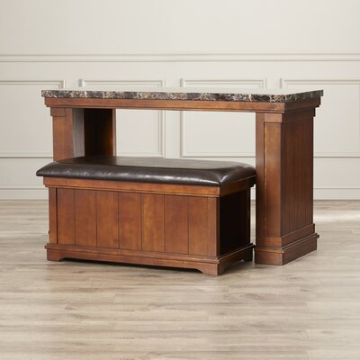 Hodgkinson Console Table with Ottoman