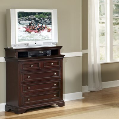 Linthicum 4 Drawer Media Chest