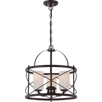 Farrier 3-Light Foyer Pendant Finish: Old Bronze