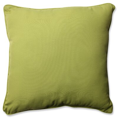 Claiborne Indoor/Outdoor Floor Pillow Color: Pear