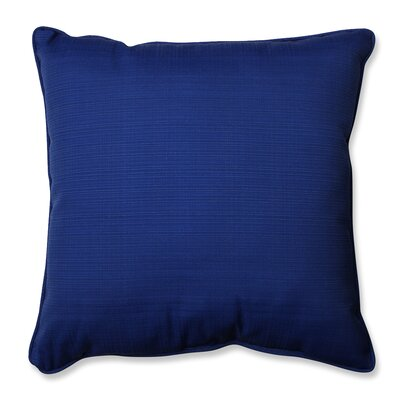 Claiborne Indoor/Outdoor Floor Pillow Color: Navy