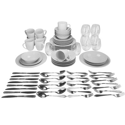 Dail 80 Piece Dinnerware Set