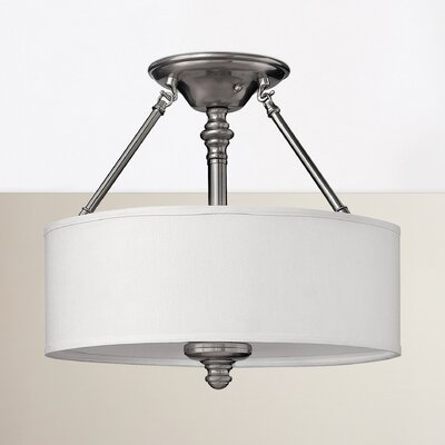 Middlebrooks Semi Flush Mount Finish: Brushed Nickel