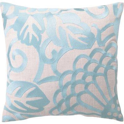 Blair Linen Throw Pillow Color: Robins Egg