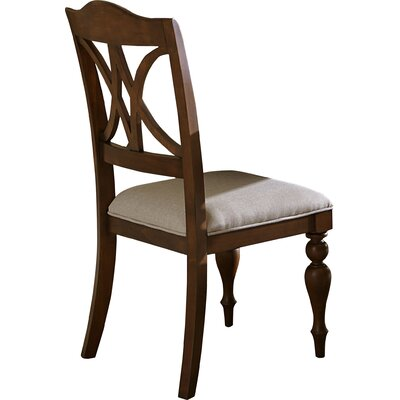 Gracehill Side Chair (Set of 2) Side Chair Finish: Brown