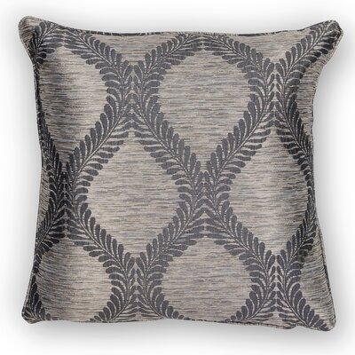 Bartow Throw Pillow Size: 18 H x 18 W x 0.5 D, Color: Grey