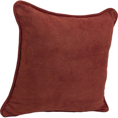Dangerfield Outdoor Throw Pillow Color: Red Wine
