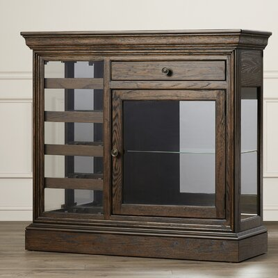 Bolander Floor Wine Cabinet