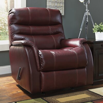 Schoenberg Rocker Recliner Type: Manual, Upholstery: Walnut