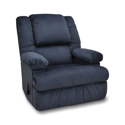 Stevens Manual Rocker Recliner Upholstery: Marine
