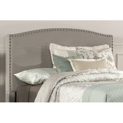 Granger Upholstered Panel Headboard Size: Twin, Upholstery: Gray