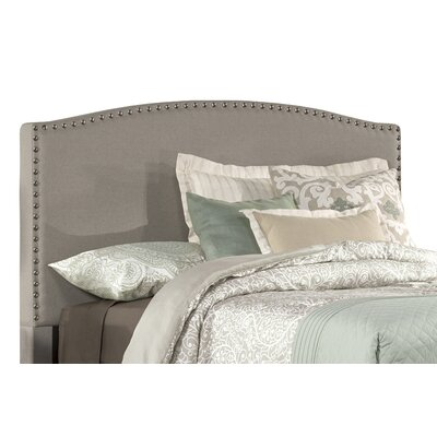 Granger Upholstered Panel Headboard Size: Full, Upholstery: Gray