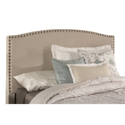 Granger Upholstered Panel Headboard Size: Queen, Upholstery: Light Taupe