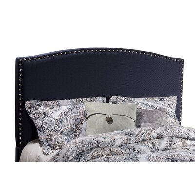 Granger Upholstered Panel Headboard Size: King, Upholstery: Navy