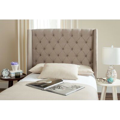 Trenton Upholstered Wingback Headboard