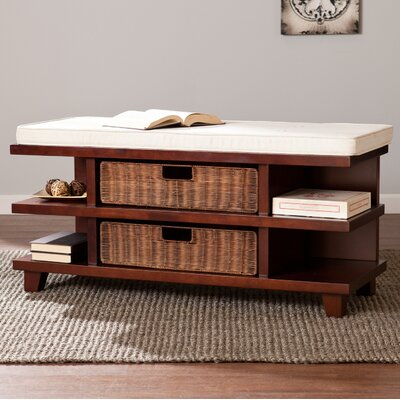 Campos Upholstered Storage Entryway Bench