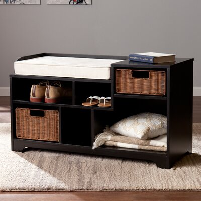 Conde Upholstered Storage Entryway Bench